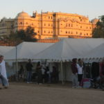 I went to a festival in a 17th-century Indian palace