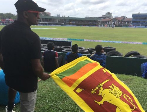 Cricket in Galle