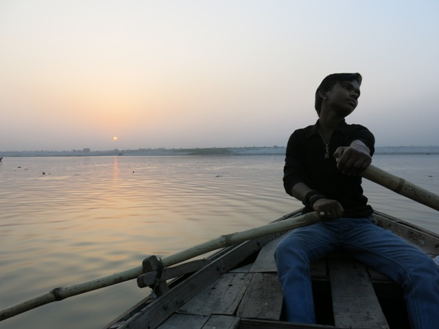 Sunrise On Ganga 2